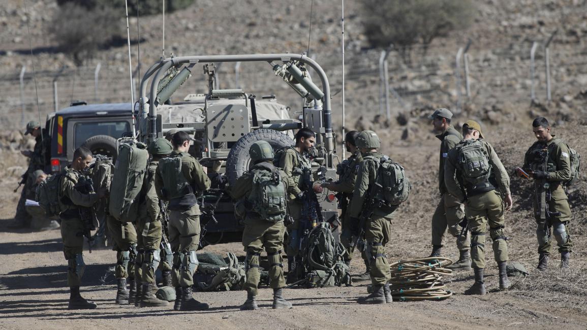 جيش الاحتلال يعلن تصفية خليّة على الحدود مع سورية