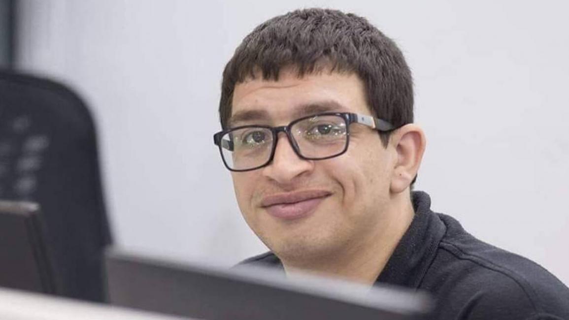 الصحافي المصريالشاب محمود خالد