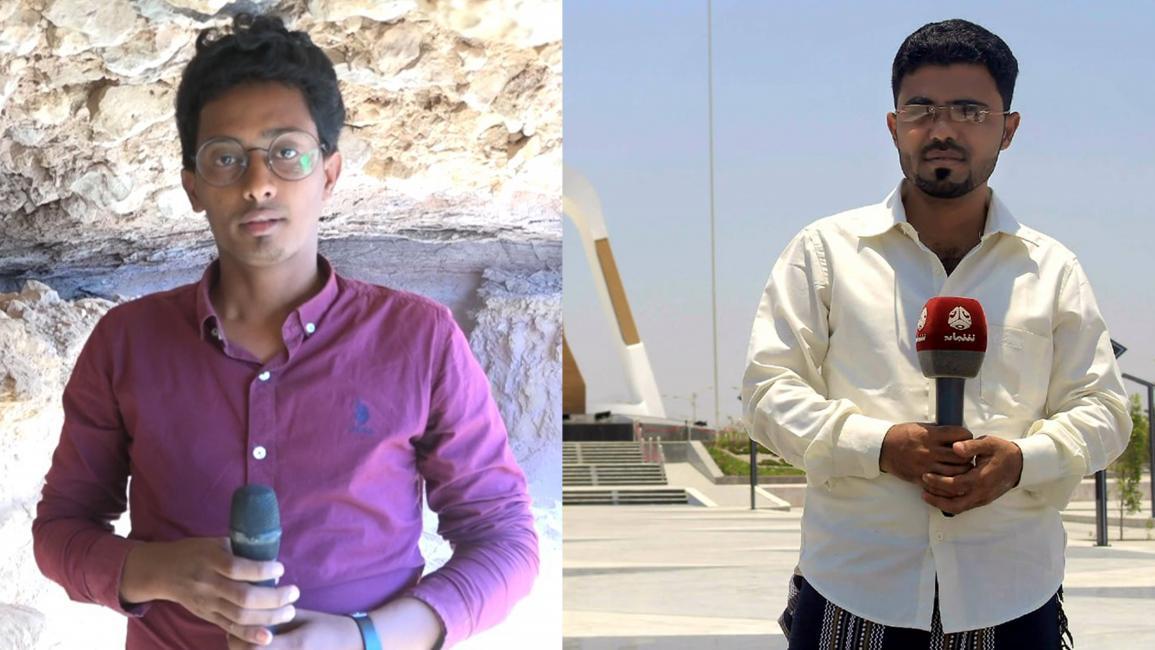 معتز النقيب (يمين) وزكريا محمد (فيسبوك)