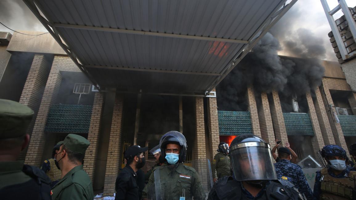 شرطة في العراق (أحمد الربيعي/ فرانس برس)