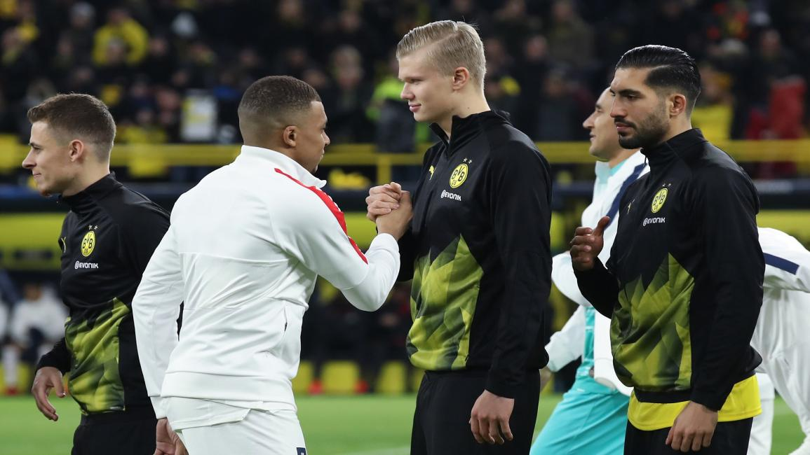 Haaland and Mbappe