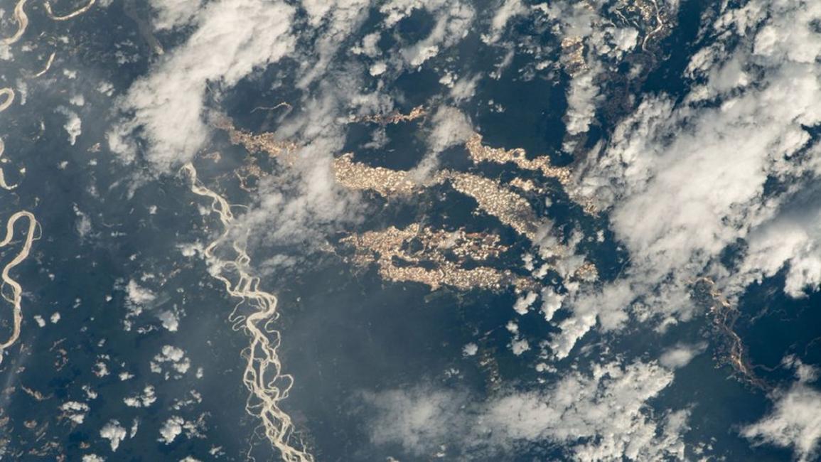 """""""ناسا"""" تنشر صورة لأنهار الذهب في الأمازون... هذا سرّها"""