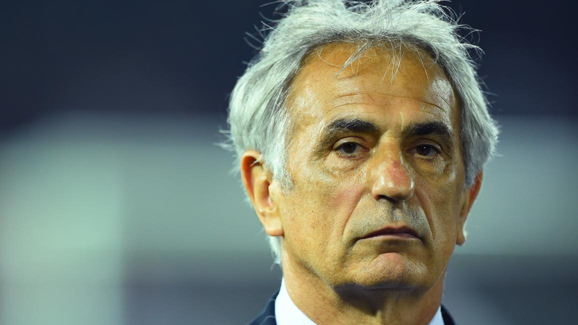 YOKOHAMA, JAPAN - JUNE 11: Manager Vahid Halilhodzic of Japan looks on during the international friendly match between Japan and Iraq at Nissan Stadium on June 11, 2015 in Yokohama, Japan. (Photo by Masterpress/Getty Images)