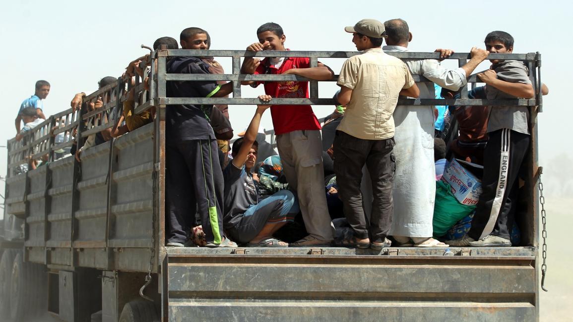 العراق/سياسة/نازحون من الصقلاوية/17/08/2016