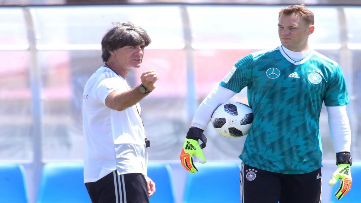 Manuel Neuer and Joachim
