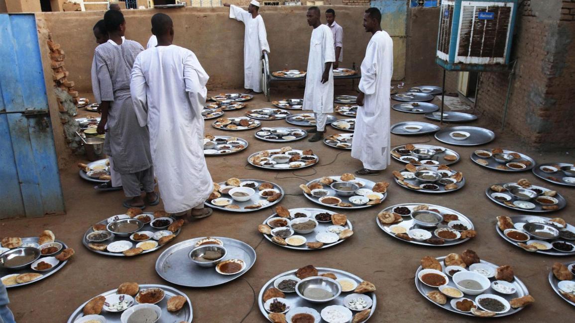 رمضان السودان تشارك وعصيدة و حلو مر