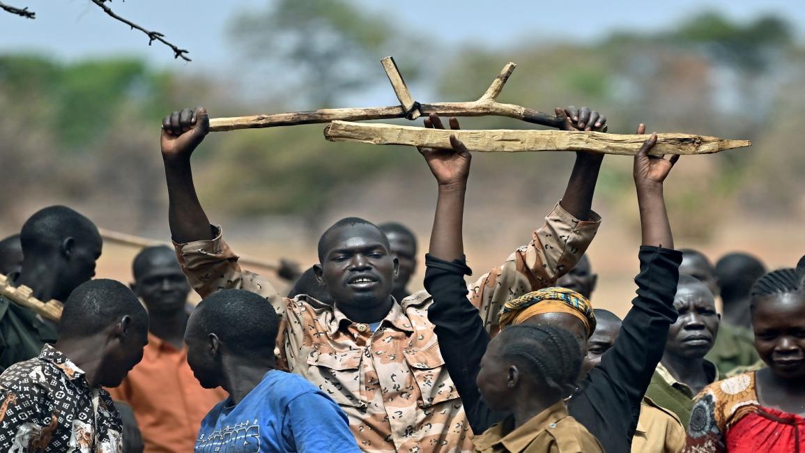 علم جنوب السودان الجديد
