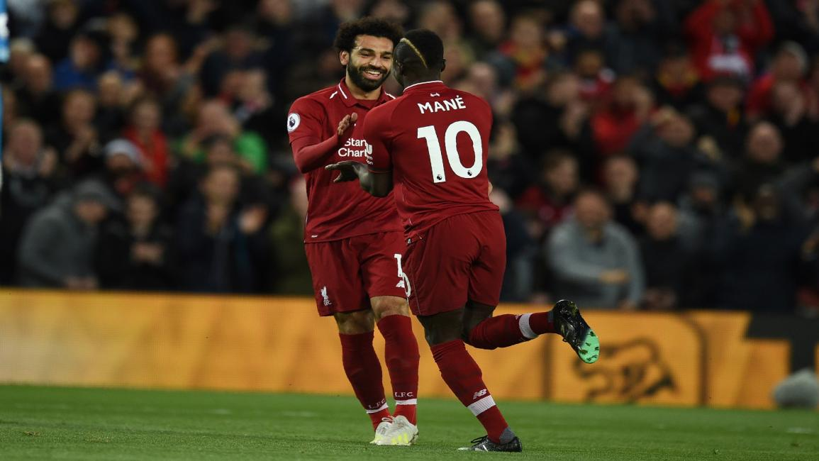 Mohamed Salah and Sadio Mane