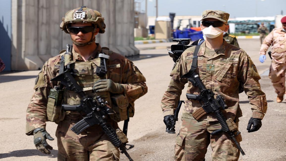 القوات الأميركية في صفوف التحالف الدولي بالعراق-مرتضى السوداني/الأناضول