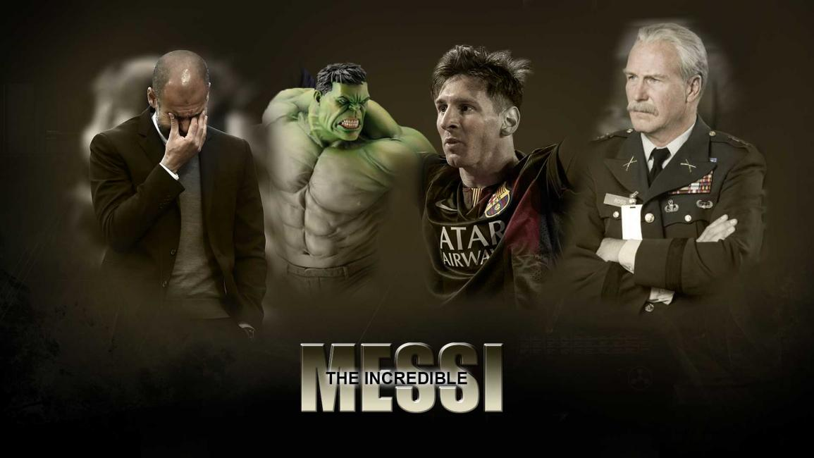 Messi The Incredible