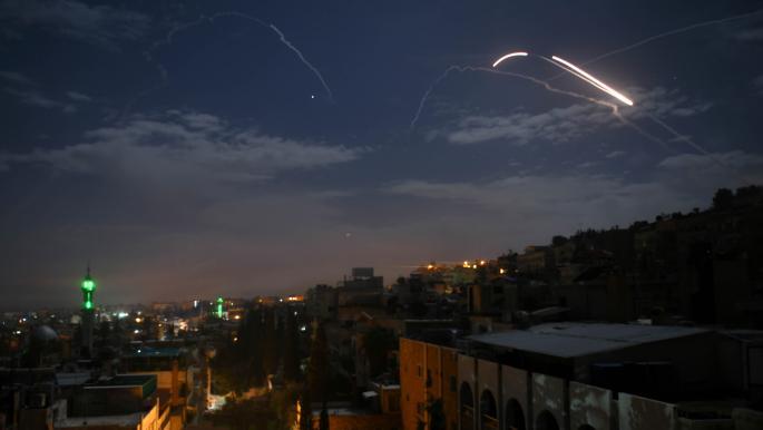 هجوم صاروخي إسرائيلي جديد يستهدف جنوب دمشق