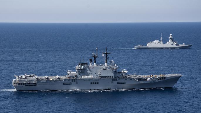 13 دولة في تمرين بحري مشترك أمام السواحل التونسية