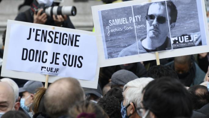"""توجيه الاتهام لستة أشخاص بـ""""التواطؤ في قتل"""" المدرّس الفرنسي"""