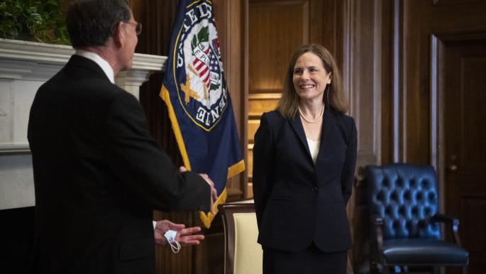 أميركا: الديمقراطيون يقاطعون التصويت على تعيين قاضية المحكمة العليا