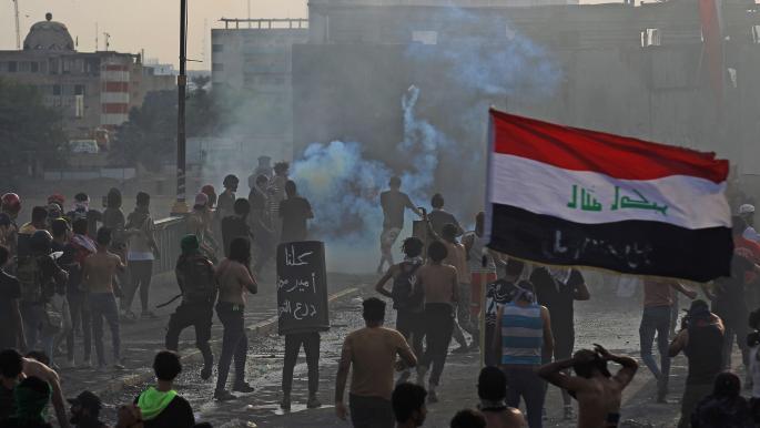 احتجاجات العراق: الأمن يستخدم الرصاص الحي وإصابات في صفوف المتظاهرين