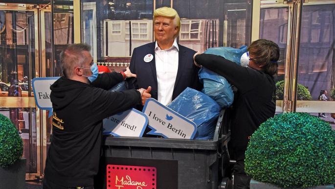 متحف الشمع في برلين يتخلص من تمثال ترامب قبيل الانتخابات الأميركية