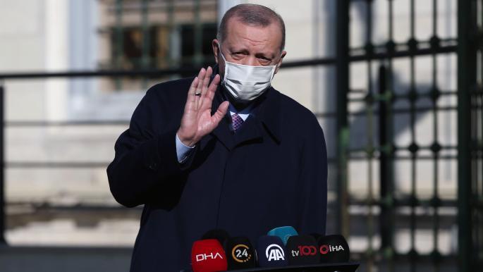 """أردوغان يدعو المسلمين إلى تجاوز الخلافات """"للدفاع عن مقدساتنا"""""""