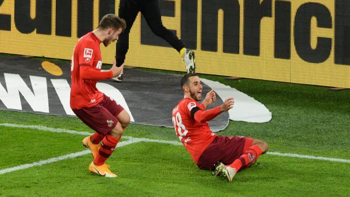 ثنائية التونسي السخيري تطيح دورتموند في الدوري الألماني