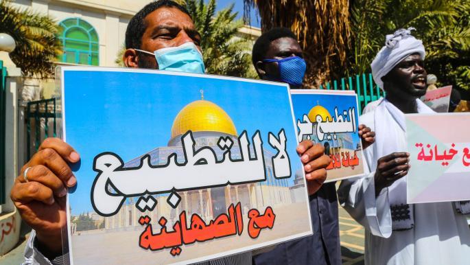 إلغاء مقاطعة إسرائيل في السودان: المكون المدني يغطي التطبيع