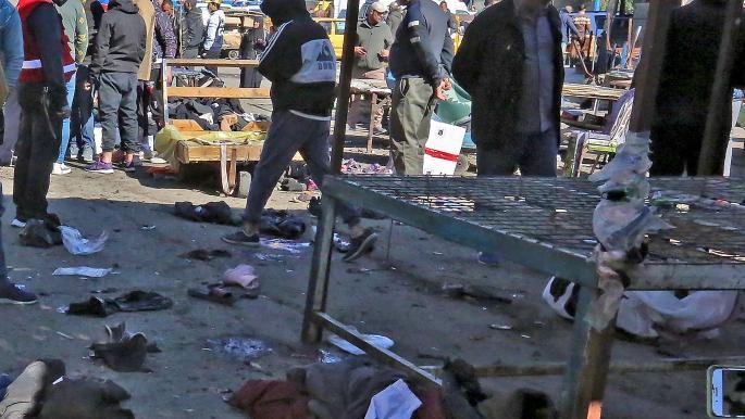 اعتداءات بغداد الدامية: عشرات الضحايا ومخاوف من العنف قبل الانتخابات