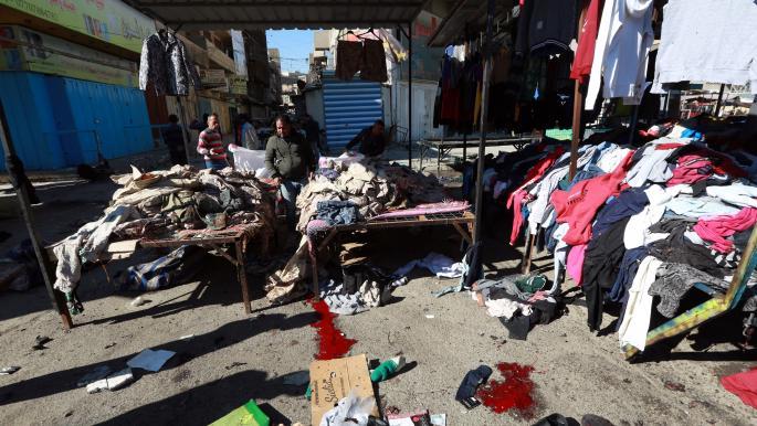 غضب وحزن واسعان: #بغداد_تنزف*من جديد