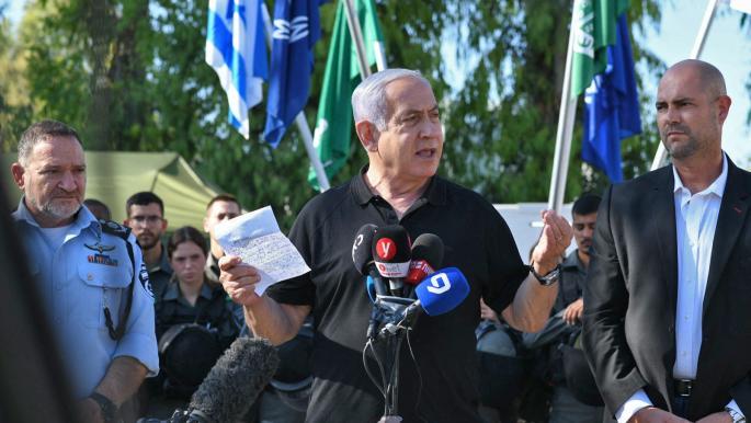 """نتنياهو: العملية في غزة ستستمر """"طالما تطلب الأمر ذلك"""""""