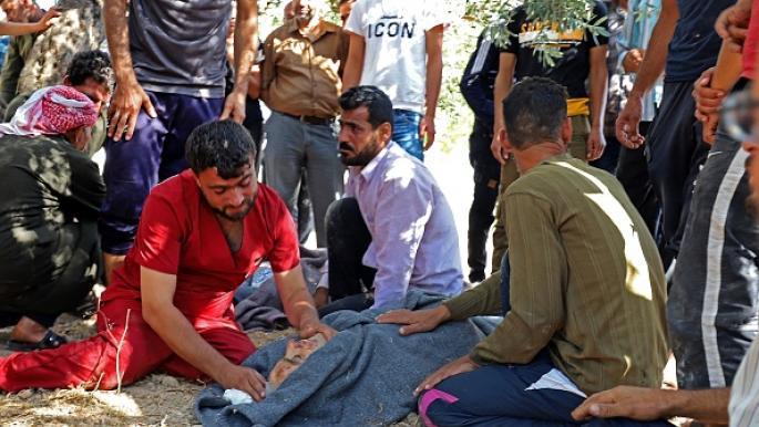 آلاف النازحين من جبل الزاوية مع اشتداد قصف النظام للمدنيين