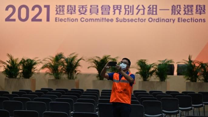 """بدء أول انتخابات """"للوطنيين فقط"""" في هونغ كونغ"""