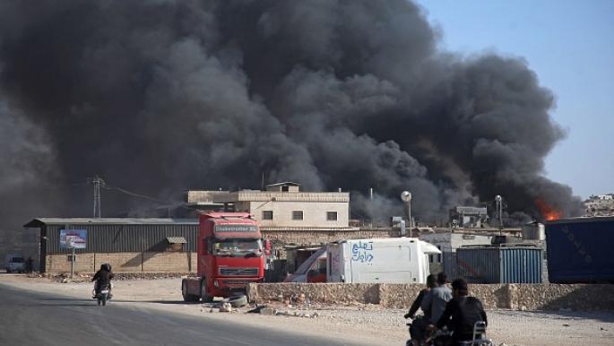قتلى وجرحى بقصف لروسيا وقوات النظام السوري في سرمدا