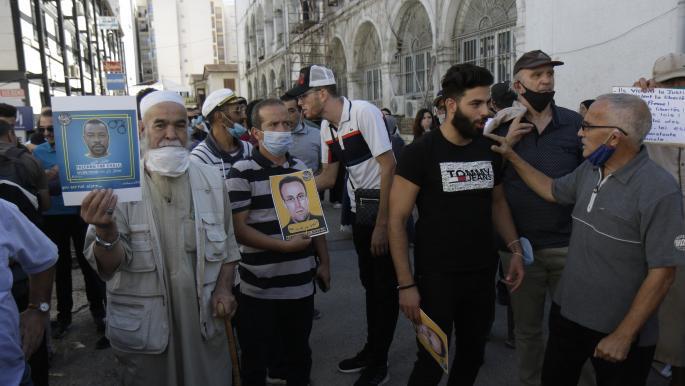 وقفة تضامنية خامسة مع الصحافيين ومعتقلي الرأي في الجزائر