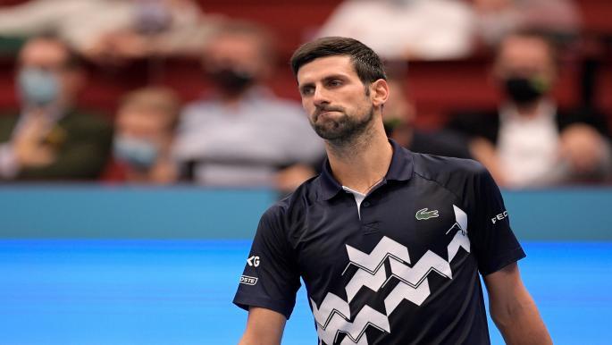 ديوكوفيتش يودّع بطولة فيينا بهزيمة مفاجئة