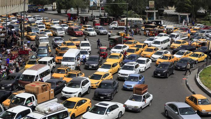 العراق: معاناة الازدحام المروري