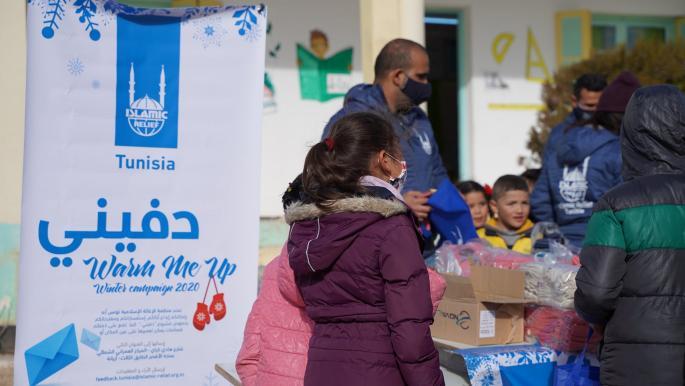 """حملة """"دفيني"""" لمساعدة المحتاجين في تونس"""