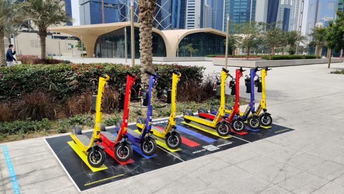 """تنقل بـ""""سكوتر"""" في الدوحة مقابل اشتراك شهري"""