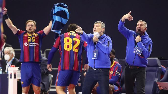 برشلونة يُتوج بلقب الدوري الإسباني لكرة اليد