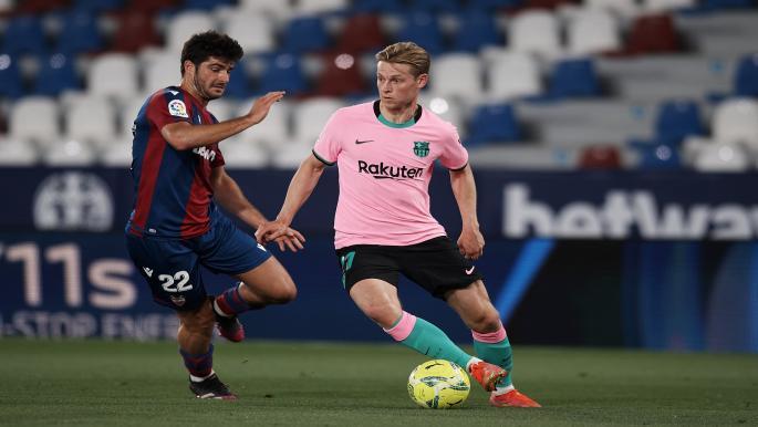 """برشلونة يقع في كمين ليفانتي ويهدر فرصة صدارة """"الليغا"""""""
