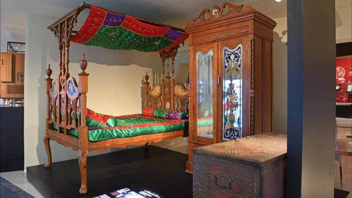 """معرض """"مال لوّل"""": مشاهد منوّعة من تراث قطر"""