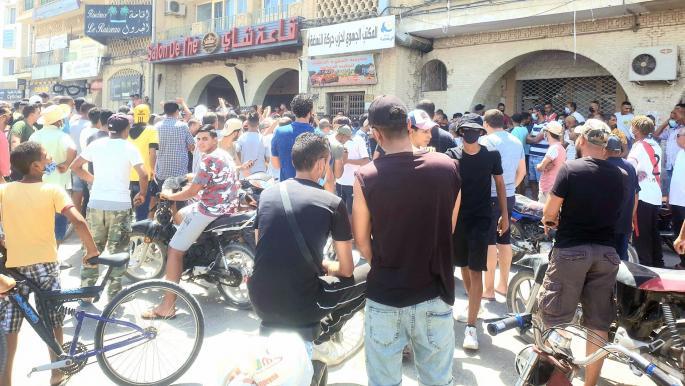"""تونس: احتجاجات متفرقة بعدد من المدن ومحاولات لاقتحام مقرات """"النهضة"""""""
