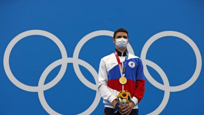 سباح روسي يُنهي سيطرة أميركا في سباحة 100 متر *على الظهر