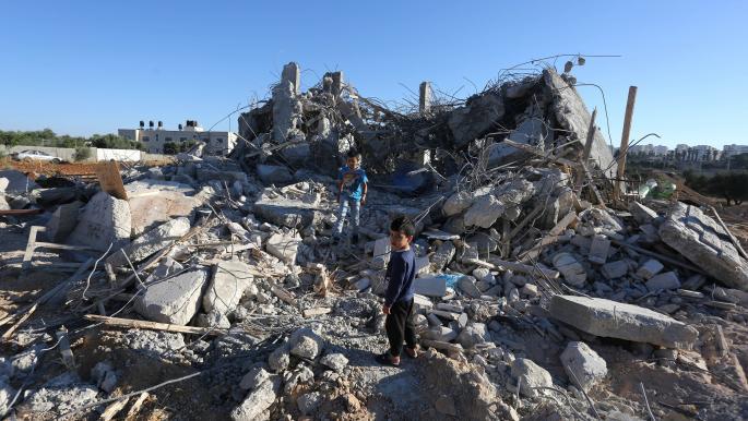 بيت هدمه الاحتلال الإسرائيلي في القدس (عصام الريماوي/ الأناضول)