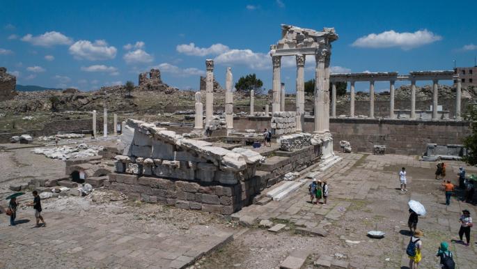 """تركيا """"الرومانية""""... بحث دائم عن كنوز الحضارة"""