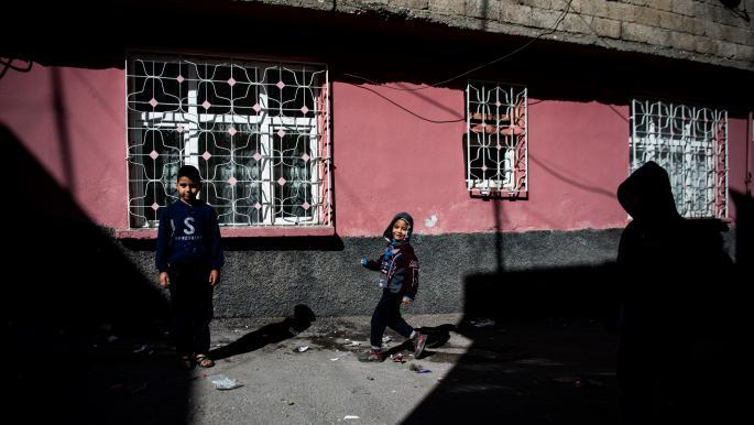 لاجئون سوريون أطفال في تركيا (أوزان كوسه/ فرانس برس)