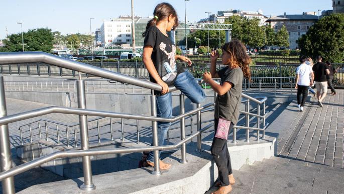 فتيات سوريات لاجئات في تركيا (Getty)