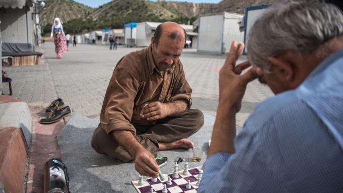 لاجئون سوريون في تركيا (دييغو كوبولو/ Getty)