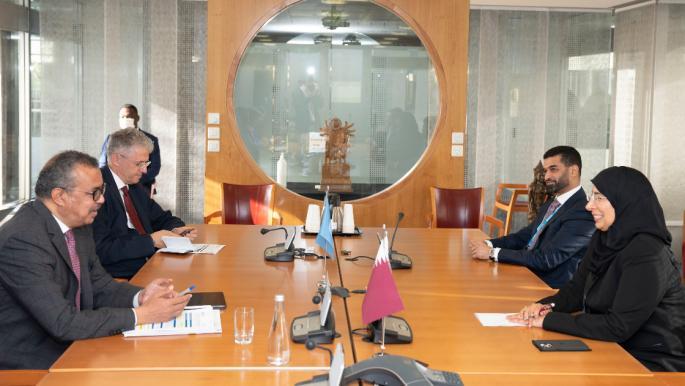 تعاون جديد بين قطر ومنظمة الصحة العالمية لدعم مونديال 2022