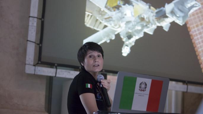 الإيطالية سامانتا كريستوفوريتي تنضم إلى محطة الفضاء الدولية في 2022