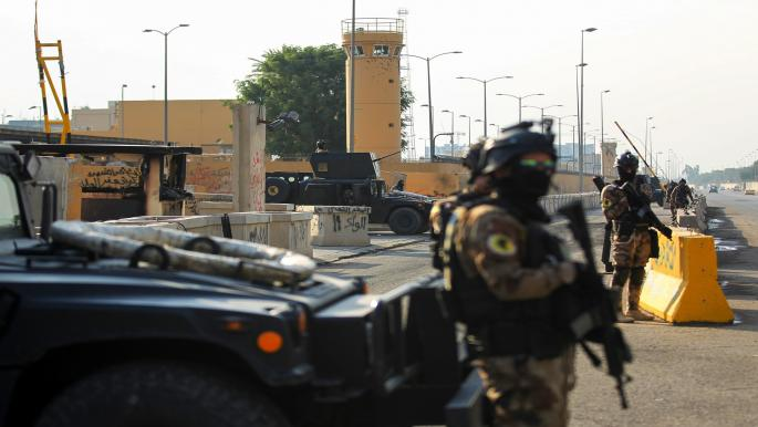 انتشار أمني وقطع طرق في بغداد مع استعدادات لتجدّد التظاهرات
