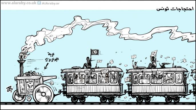 هذه الموجة من الاحتجاجات في تونس