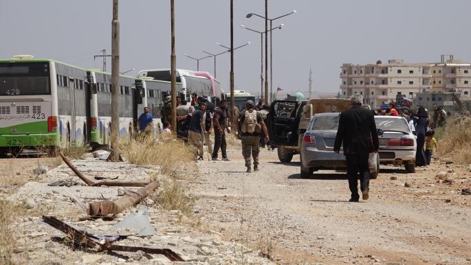قبيل انتهاء المهلة.. النظام السوري يشدد الحصار على طفس ويعزز قواته