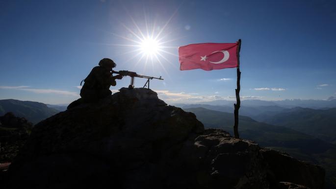 """قتلى وجرحى بين مسلحي حزب """"العمال الكردستاني"""" بقصف تركي شمالي العراق"""